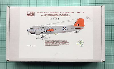 Red Roo/Hawkeye Models 1/72 C-47 Dakota ANARE Conversion Set and Decals.