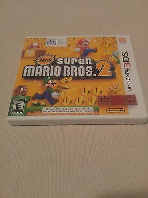 New Super Mario Bros. 2 (Nintendo 3DS, 2012) NO MANUAL