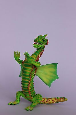 Dragon, OOAK doll, polymer clay sculpture, by Diana Genova