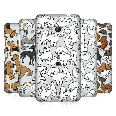 Head Case Designs Dog Breed Patterns 4 Hard Back Case For Microsoft Phones