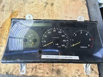Toyota Hiace Instrument Cluster Diesel Manual T/M Tacho Genuine 11/1989-12/2004