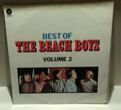 LP - Best of the Beach Boys Volume 2  on Capital Records