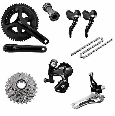 Shimano 105 5800 Road Bike 2x11 Speed Groupset Build Kit 52-36T 170mm / 172.5mm