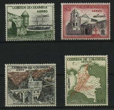 Colombie PA N° 249/52** (MNH)