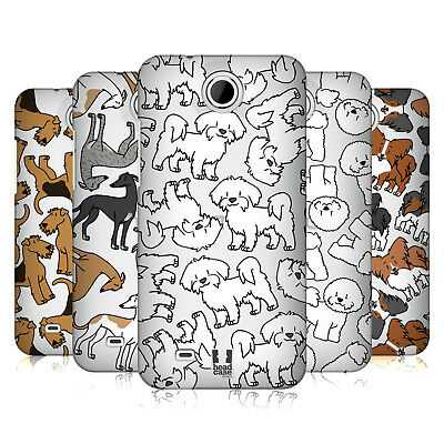 Head Case Designs Dog Breed Patterns 4 Hard Back Case For Htc Phones 3