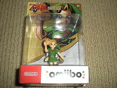 Legend of Zelda Majora's Mask Link Amiibo BRAND NEW Free/Fast Shipping On Hand