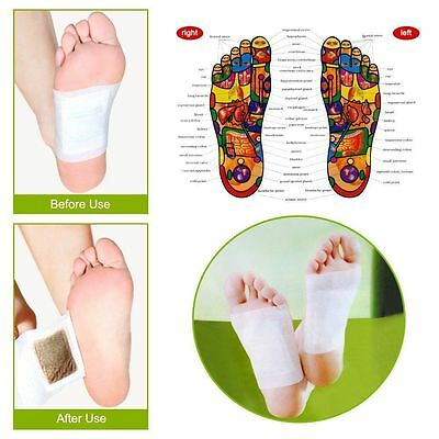 Detox Foot Pads Patch Detoxify Toxins with Adhesive Keeping Fit Health Care