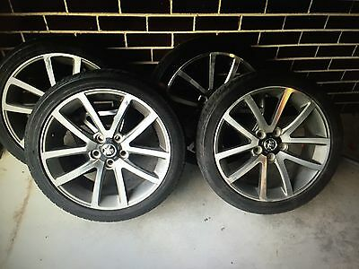 """VE SSV Wheels and Tyres Series 2 19"""""""
