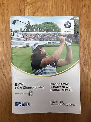 BMW PGA Championship Wentworth - Programme & Daily News, Friday May 26 2017.