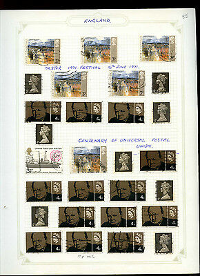 GB Album Page Of Stamps #V5176