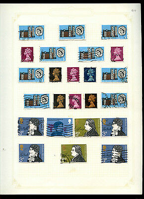 GB Album Page Of Stamps #V5181