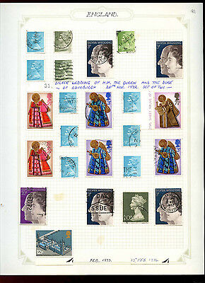 GB Album Page Of Stamps #V5186