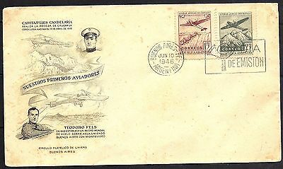 1946 Argentina Air Mail FDC