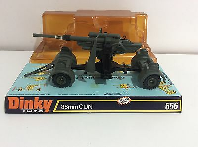 Rare DINKY TOYS 656 88mm Gun. Boxed.