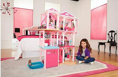 Barbie Dreamhouse- 70+ Accessories- Free Shipping