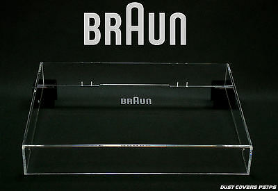 Dust Cover for  Braun logo PS 1000,500,600 tapa,acrylhaube,stofkap,couvercle