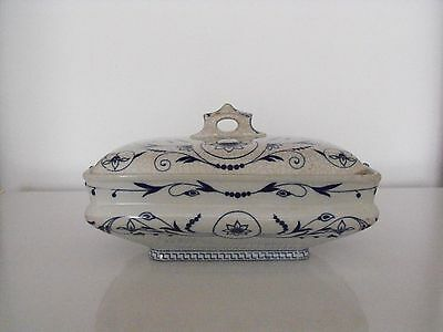 """Booths """"Dresden"""" Pattern Tureen - Rare first pattern - 1883 first production."""