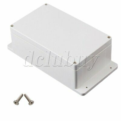 Waterproof Outdoor Plastic Electrical Junction Project Box 240x120x75mm