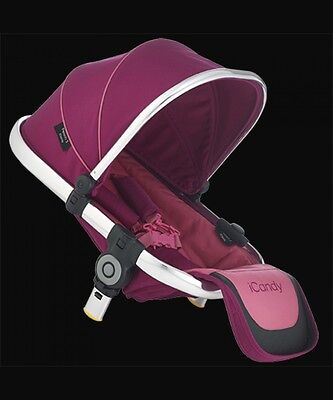 Icandy Peach 3 Lower Seat Pink Fuchsia Bnib