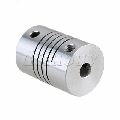 Flexible Top Tight CNC Stepper Motor Coupler 5mm to 8mm Aluminum Screw-thread