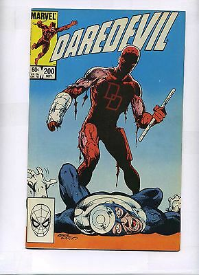 Daredevil Marvel Comic Books # 200