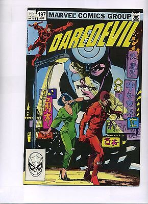 Daredevil #197 Marvel 1983 Comic