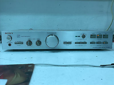Integrated Amplifier Sony Ta-F45 Hifi Pulse Power Supply Excellent Sound