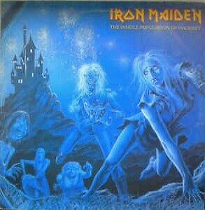 Iron Maiden ‎– The Whole Population Of Hackney lp rare