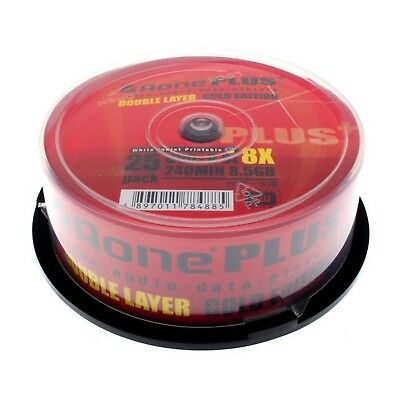 Bulk Buy - Aone Full Face Printable 8x DVD+R DL Dual Layer 8.5GB - 600 Discs - B