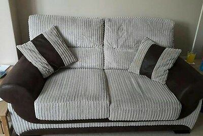SCS 2 Seater Sofa + 2 Seater Cuddle Chair