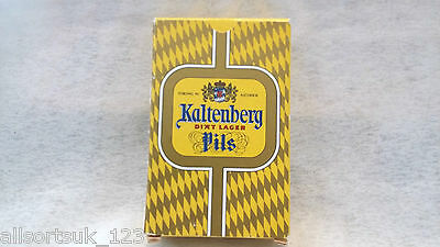 Kaltenberg Lager Pils Playing Cards(Boxed In Sealed Wrapper)Mint Condition