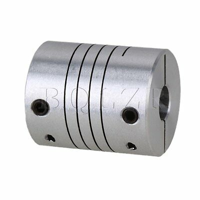 6.35 x 8mm CNC Stepper Motor Shaft Coupler D25L30 Flexible Coupling Connector