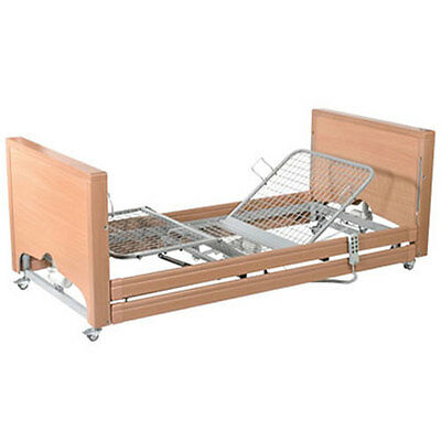 Classic Low Hospital Bed with Side Rails