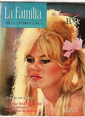 La Familia Brigitte Bardot  Published in Spanish for the Mexican market  Dec1961