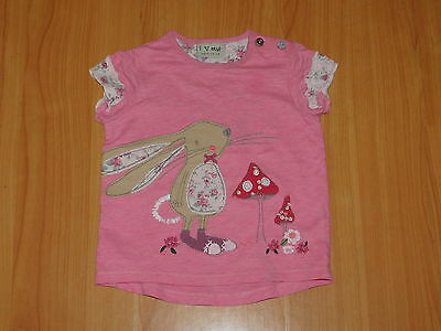 ** Next ** Englandmode T-Shirt ** Erdbeermaus ** Strawberry Bunny Hase Gr.86/92