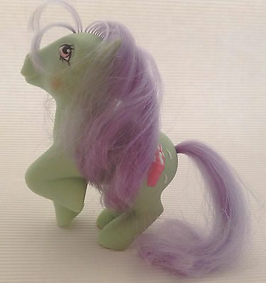 My Little Pony G1/ Sundae Best Ponies / Peppermint Crunch/ Pfefferminzi / 1987