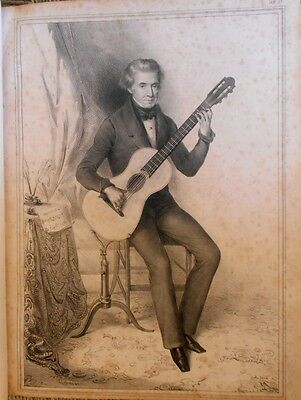 Dionisio Aguado. Nuevo método para guitarra 1843. Old guitar method