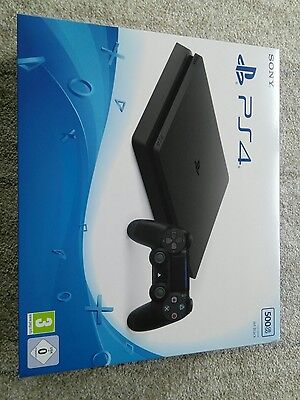 Sony PlayStation 4 Slim 500GB Spielekonsole Neu