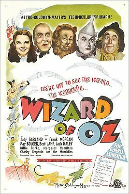"Set Of 16 Wizard Of Oz Movie Art 6"" x 4"" Photo Prints"