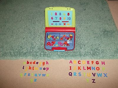 Elc Alphabet Magnetic Board And Carry Case ### In Vgc ### !!!