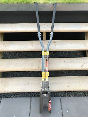"""Fence Post Auger Hole Drill Manual Tool 4"""" Bore"""