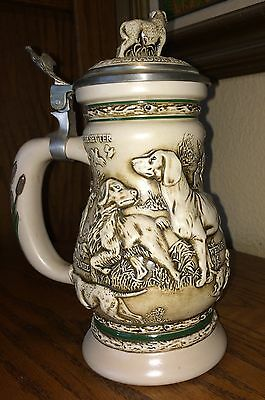 AVON  DOGS OF THE OUTDOORS Stein 1991  BRAZIL