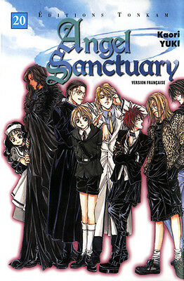 ANGEL SANCTUARY Tome 20 - Jaquette COLLECTOR
