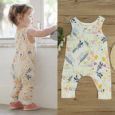 Newborn Toddler Infant Infant Baby Girl Romper Bodysuit Jumpsuit Outfits Clothes
