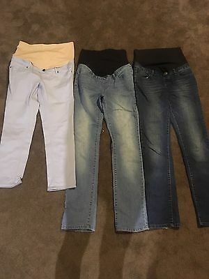 Maternity Jeans X 3 Size 8 & 10