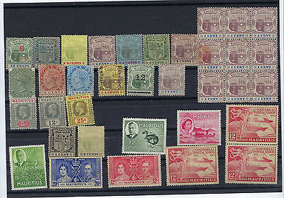 Timbre Mauritius/ile Maurice  Lot De Divers Timbres Neuf Tb