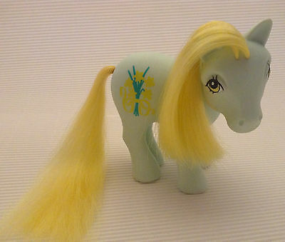 My Little Pony G1/ Flower Ponies  /  Daffodil / Narzisslein / 1990