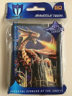Max Protection Small Fit - Dragon Fury - Trading Card Sleeves - 60 Pack - YuGiOh