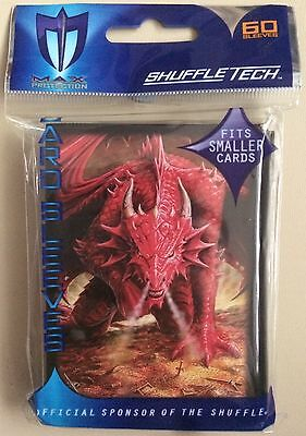 Max Protection Small Fit Wrath of the Dragon Trading Card Sleeves 60 Pack YuGiOh