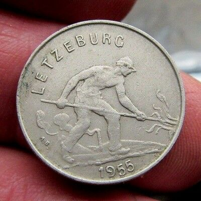 1955 Luxembourg 1 Franc